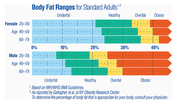 Image: Body Fat Chart