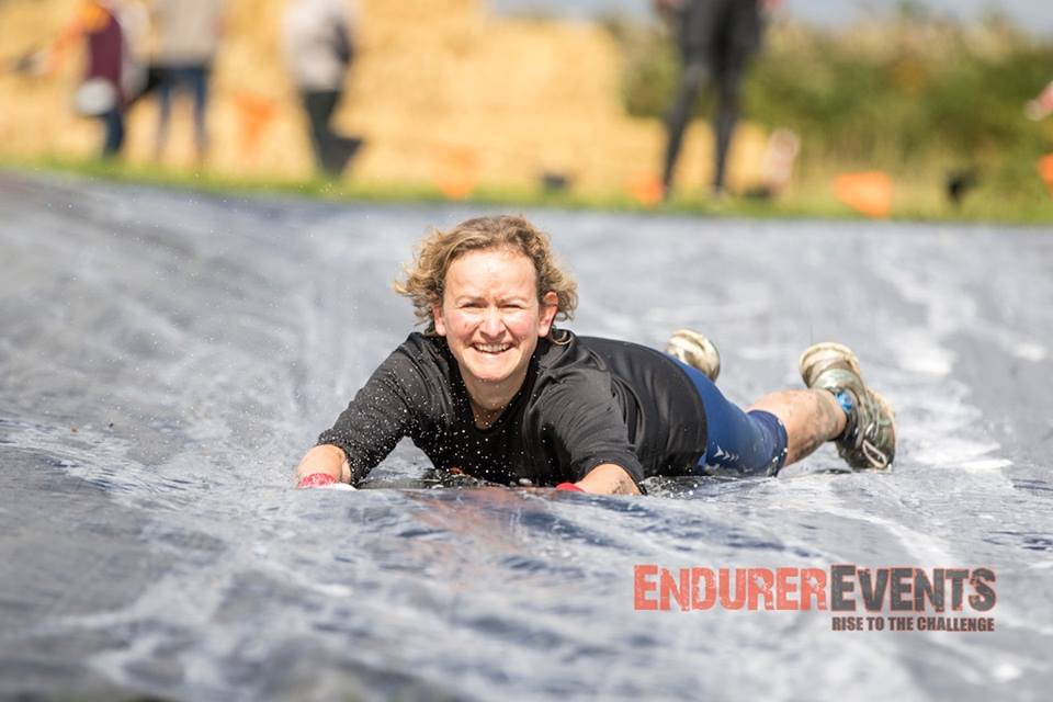 Image: Tara doing Endurer Dash 2015