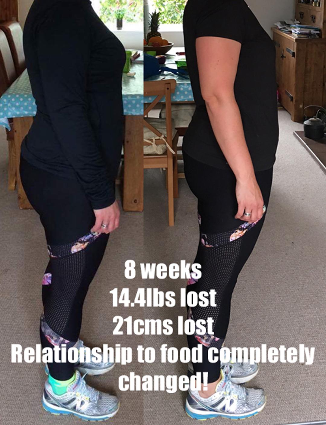 8-week results